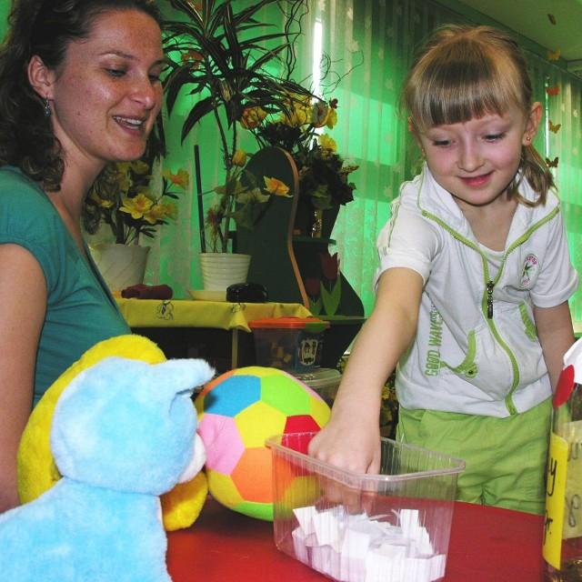 W przedszkolu nr 5, gdzie uczy Kamila Stefurak (na zdjęciu), dzieci będą od małego uczyły się przedsiębiorczości.