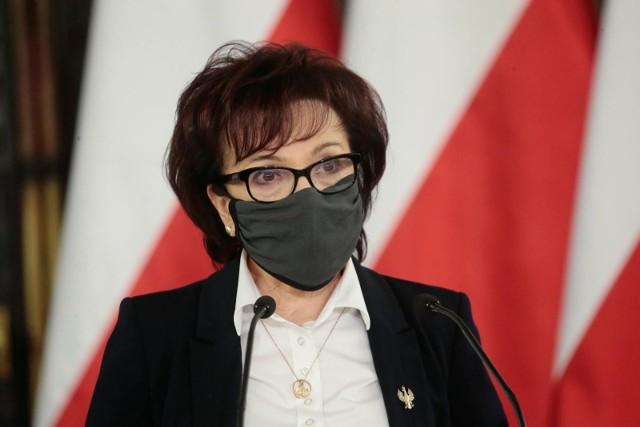 Elżbieta Witek, marszałek Sejmufot. adam jankowski / polska press