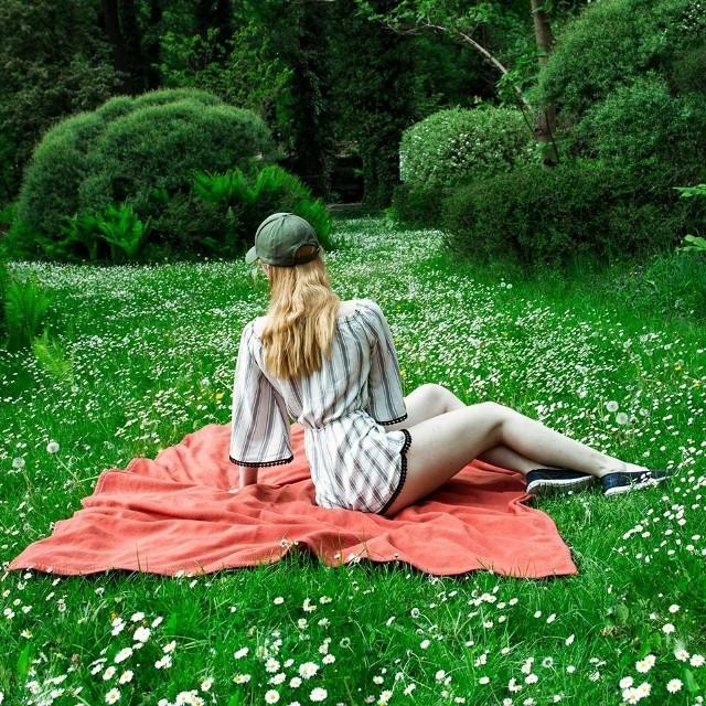 Manor House w Chlewiskach już w pierwszy majowy weekend udostępnił park dla zwiedzających.