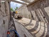Budowa tunelu średnicowego: Faustyna cały czas pracuje. ZDJĘCIA
