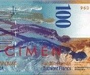 Najbardziej tanieje szwajcarski frank