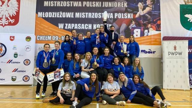 Zapaśniczki Cementu-Gryfa Chełm wygrały klasyfikację drużynową wśród juniorek