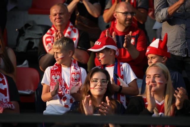 14.09.2021. Kraków: kibice na meczu ME w amp futbolu Polska - Izrael