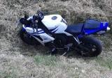 Mchówko. Kolizja z udziałem motocyklisty. Kierujący został przetransportowany do szpitala. 11.06.2021