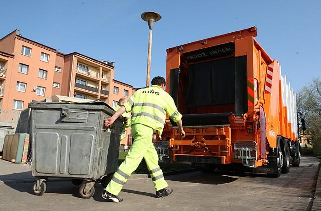 Śmieciarka Mercedes Econic testowana przez firmę King ze Słupska