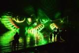 Ale to była noc nad Jeziorem Nyskim! Pokaz laserów, pole dance i impreza na plaży