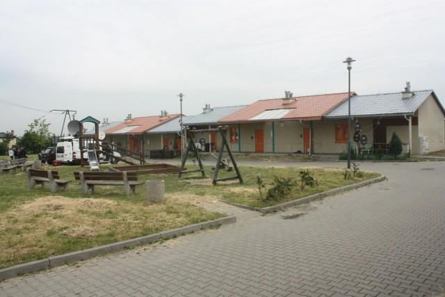 Osiedle socjalne przy ul. Wolskiej w Będzinie. Tu znaleziono zwłoki 12-letniego Michała