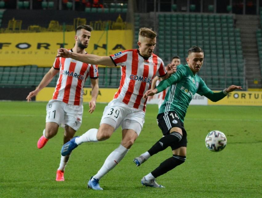 Michał Karbownik (z prawej) to obecnie największy talent grający w PKO Ekstraklasie