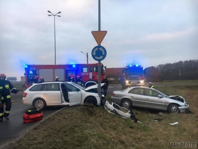 Wypadek w Opolu Wrzoskach.