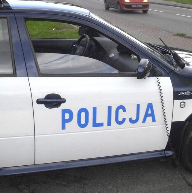 Policjanci znaleźli narkotyki podczas kontroli drogowej.