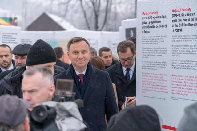 Prezydent Andrzej Duda w Stróży