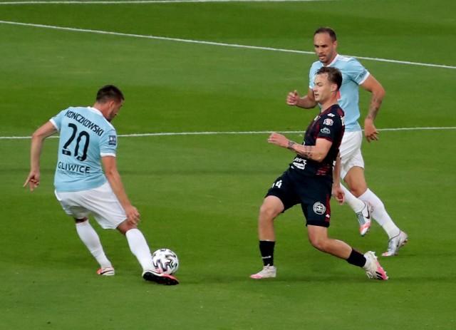 Pogoń Szczecin pokonała Piasta Gliwice 1:0   Zobacz kolejne zdjęcia. Przesuwaj zdjęcia w prawo - naciśnij strzałkę lub przycisk NASTĘPNE