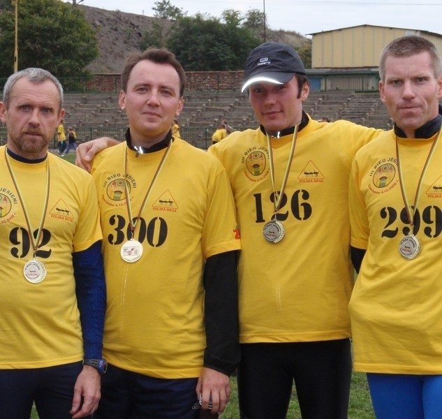 Na zdjęciu polkowicznie Adam Kończak, Jacek Karamucki, Krystian Pothaniak, Bogdan Godlewski