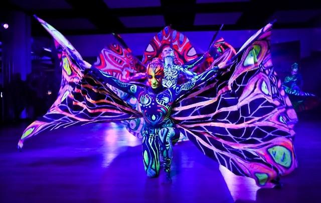 DecoMotion Art to pokaz florystyczno-dekoratorski z przepiękną oprawą taneczną. Widowisko odbyło się w ramach targów Gardenia 2018.