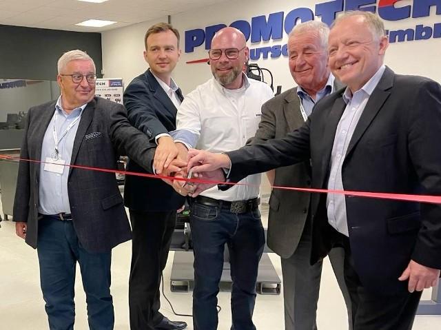 Uroczyste otwarcie Promotech Deutschland GmbH