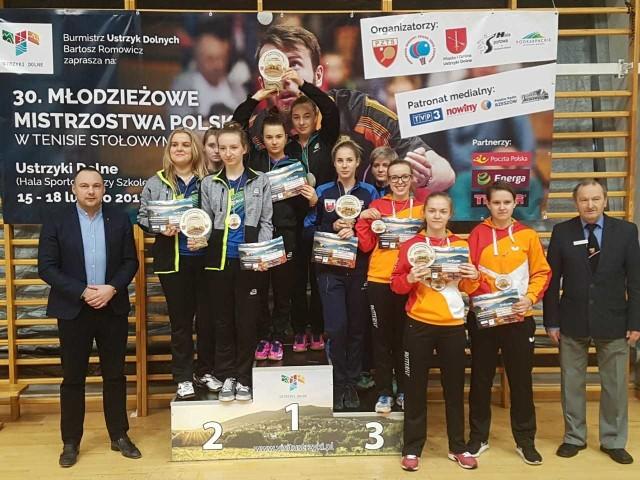 W rywalizacji kobiet wygrał AZS UE Wrocław.