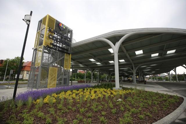 Nowy międzynarodowy dworzec autobusowy w Katowicach przy Sądowej.Zobacz kolejne zdjęcia. Przesuwaj zdjęcia w prawo - naciśnij strzałkę lub przycisk NASTĘPNE