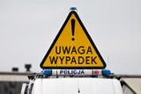 Wypadek samochodu Służby Ochrony Państwa w Rzgowie. Ranni po zderzeniu z rządowym samochodem [ZDJĘCIA]