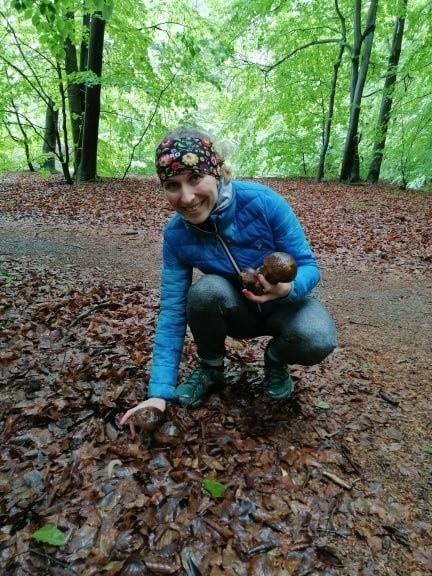 Zdjęcia grzybów znalezionych przez podczas spaceru przez naszą Czytelniczkę.