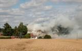 Jaskra. Sześć zastępów gasiło pożar domu mieszkalnego w regionie [ZDJĘCIA]