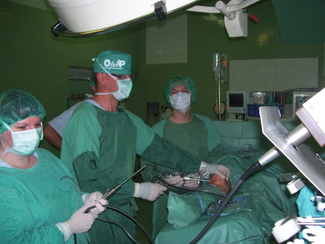 W Centrum w ciągu roku jest wykonywanych około 700 operacji wszczepienia endoprotez