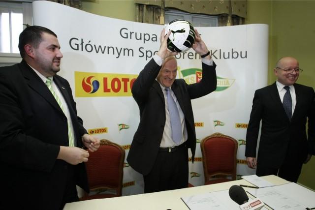 Paweł Olechnowicz, prezes Grupy Lotos, czyli głównego sponsora Lechii, nie spotkał się z jej właścicielem.