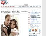 Ślub Kate i Williama. Szczęśliwy książę i jego narzeczona pozowali do zdjęć