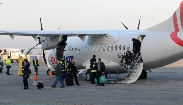 Połączenie Bydgoszczy ze stolicą nie cieszyło się popularnością. Samoloty Eurolotu nieraz leciały niemal puste