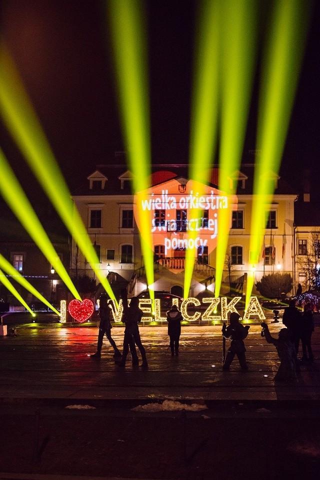 Tak grano z Wielką Orkiestrą Świątecznej Pomocy 2021 w gminach: Wieliczka (były tu dwa sztaby) oraz Niepołomice i Gdów