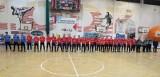 Podczas meczu koszykarek odbyła się prezentacja piłkarzy Widzewa