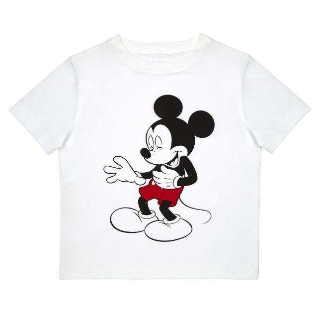 TK Maxx_ Disney_Biała Dziecięca koszulka Mickey_49.99_zl