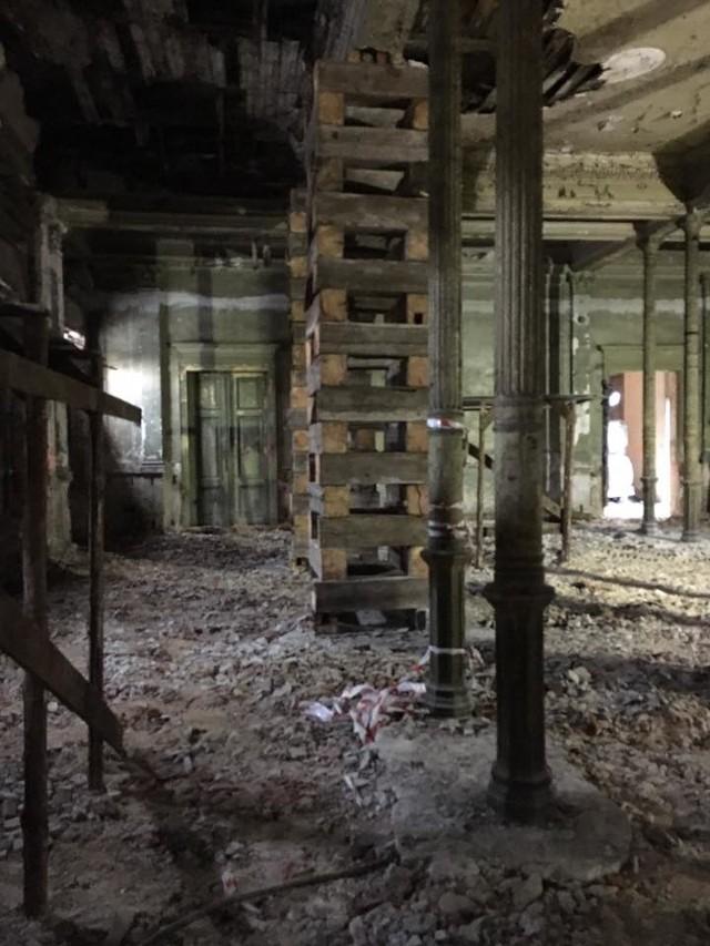 Trwa remont zabytkowego dworca kolejowego w Sosnowcu-Maczkach