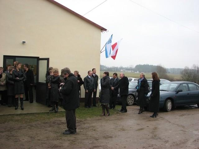 """Otwarcie 14 kilometrów """"Schetynówki"""" z Nura do Zaszkowa - 2009-11-25"""