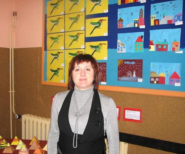 Gabriela Panknin, dyrektorka Zespołu Szkół w Jastrzębcu