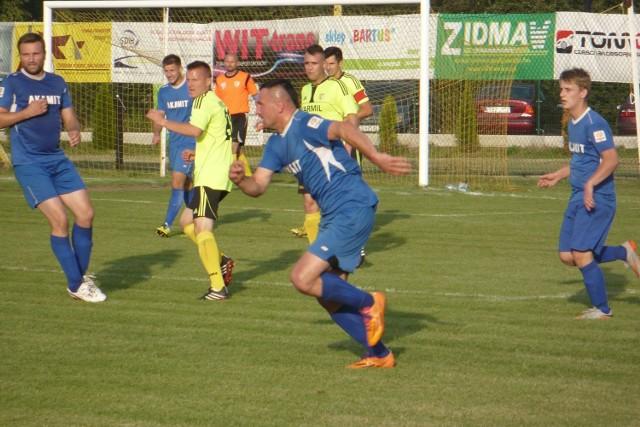 Damian Skiba (w środku) ma uraz kolana i nie wiadomo, czy zagra ze Spartą. Na pewno wystąpi kapitan Maciej Witek.