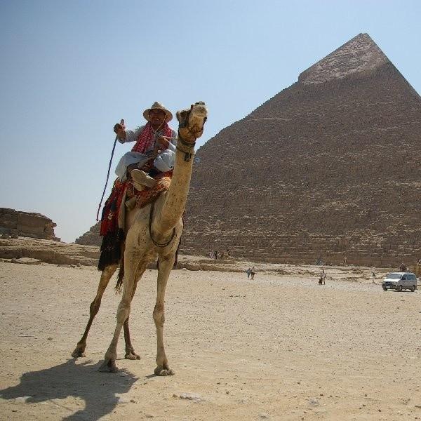 Egipt. Piramida