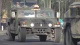 """Amerykański konwój wojskowy jedzie przez Polskę. """"Chcą podnieść morale i pokazać Rosji, że..."""""""