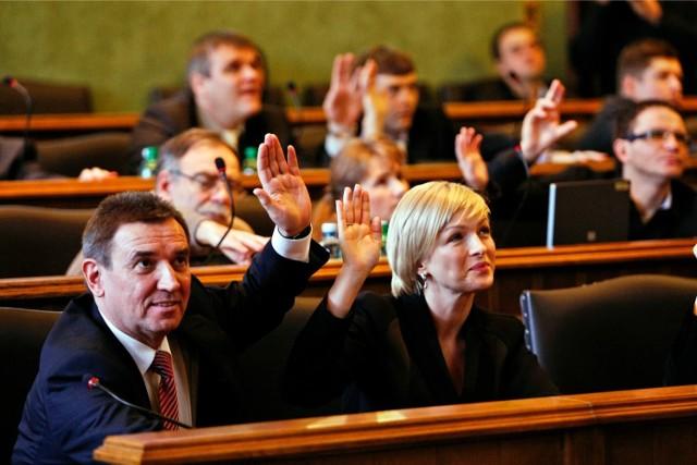 Zdjęcie ilustracyjne z sesji Rady Miejskiej Wrocławia