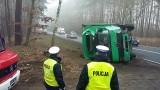 Karambol pod Bydgoszczą! Zderzenie pięciu samochodów w Wypaleniskach, spore utrudnienia