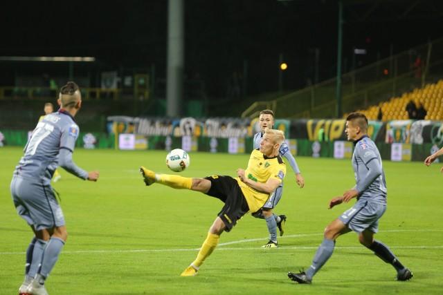 W meczu I rundy Pucharu Polski GKS Katowice wygrał z Pogonią Szczecin w rzutach karnych 4:3. Spotkanie po dogrywce skończyło się remisem 1:1.