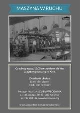 """Muzeum Hutnictwa w Katowicach: zobaczymy zabytkową walcarkę """"na chodzie"""""""