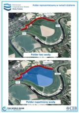 Poldery i zbiorniki mają zabezpieczać przed powodzią. W powiecie krakowskim planują cztery takie obiekty