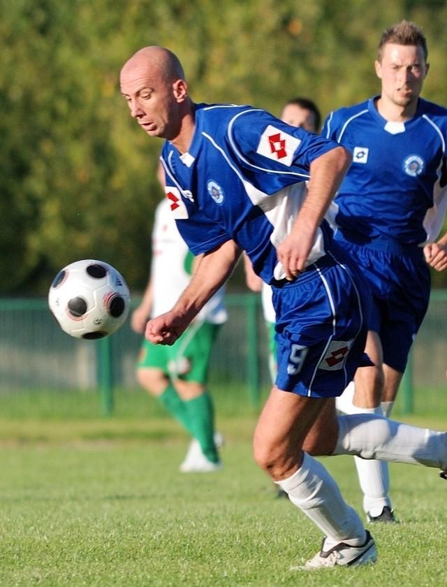 Grzegorz Kosiarski zdobył 4 gole dla Darłovii.