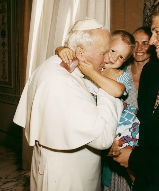 Oleśnianie u Jana Pawła II