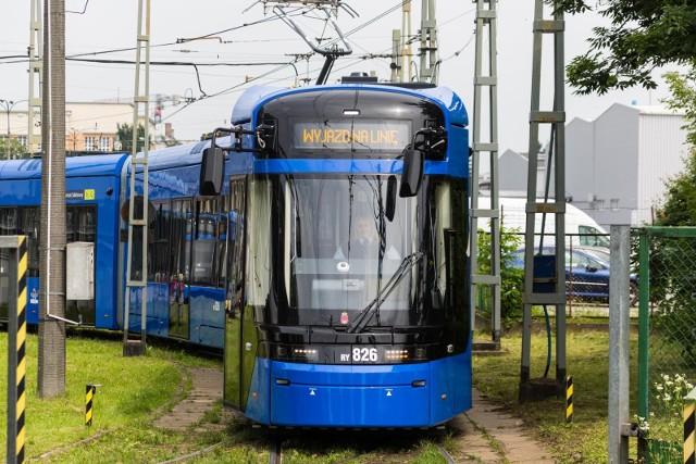W elektroniczny system liczenia pasażerów wyposażone są tramwaje typu Lajkonik