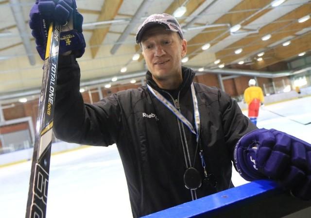 Oleg Małaszkiewicz w poniedziałek pierwszy raz spotkał się z zespołem.