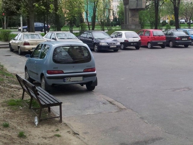 Rzeszów, ul. Dąbrowskiego.