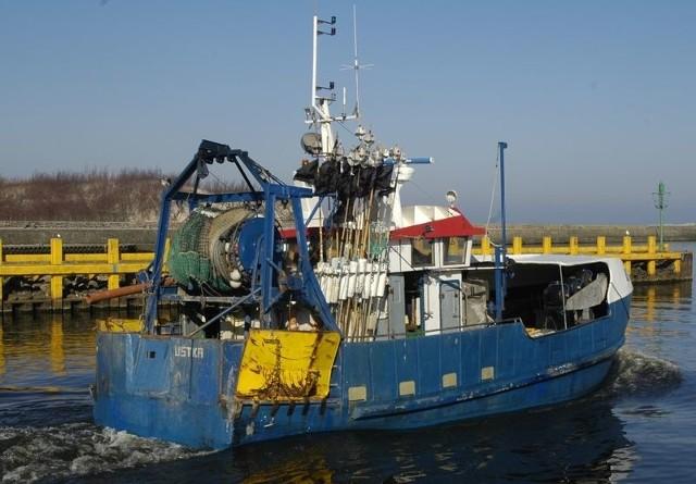 Rybacy z Ustki otrzymują już odszkodowania za to, że nie łowią dorszy.