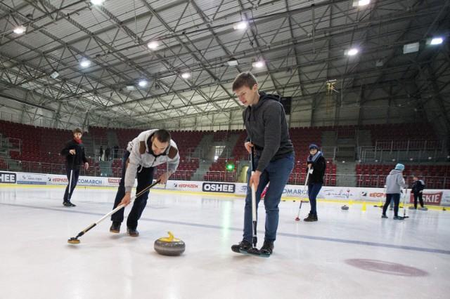 Pokazowe zajęcia z curlingu na lodowisku Cracovii odbędą się już po raz kolejny