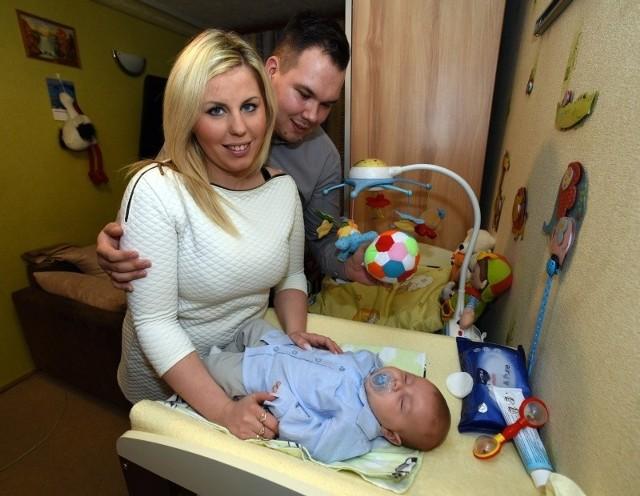 Brajan, syn Patrycji Obarek-Nowak i jej męża Michała przyszedł na świat 14 października. Ważył 3440 g, a mierzył 54 cm.